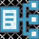 Connection Document Management Icon