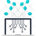 Connection Network Data Icon