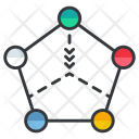 Connection Multiple Wokflow Icon
