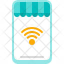 Connection Wireless Mobile Icon