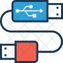 Connection Usb Cable Icon