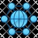 International Corporation Business Icon