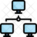 Network Communication Connection Icon