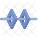 Connection Forms Tube Icon