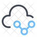 Connection Link Cloud Icon