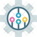 Link Networking Cogwheel Icon