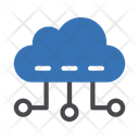Cloud Computing Online Icon