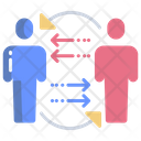 Connection User User Transfer Employee Transfer Icon