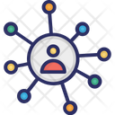 Connectivity Business Connectivity Users Icon