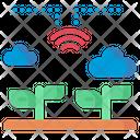 Connectivity Smart Farm Farm Icon