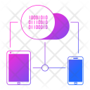 Connectivity Network Hosting Icon