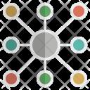 Connectivity Bond Communicate Icon