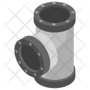 Connector Pipe Water Supply Plumbing Services Icon