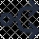 Connector Split Right Icon
