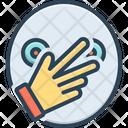 Connivance Hand Finger Icon