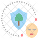 Conscious Preservation Awareness Icon