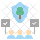Consensus Conservation Forest Icon