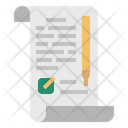 Consent Form General Data Protection Regulation Icon