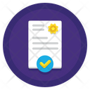 Consent Appoval Compliance Icon