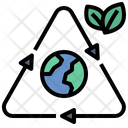Conservation Earth Recycle Icon