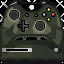 Console Xbox Camo Icon