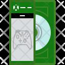 Console Xbox Disc Icon