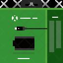 Console Xbox Battery Icon