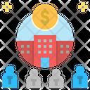 Consortium Company Organization Icon