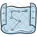 Constellation Map Sky Map Space Map Icon