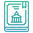 Constitution Law Election Icon