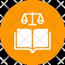 Constitution Law Jurisprudence Icon
