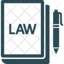 Constitution Book Criminal Law Justice Book Icon