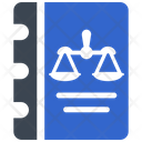 Book Constitution Law Icon