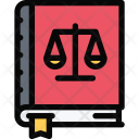 Constitution Law Crime Icon