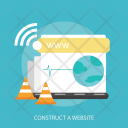 Construct Website Internet Icon