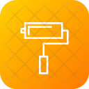 Construction Painting Roller Icon