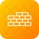 Construction Bricks Wall Icon
