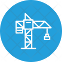 Construction Tool Crane Icon