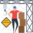 Construction Construction Board Under Construction Icon
