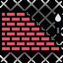 Bricklaying Brick Wall Icon