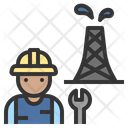 Construction Repairman Maintenance Icon
