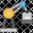 Construction Crane Box Icon