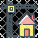 Construction Building Technology Crane Icon