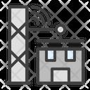 Construction Crane Wi Fi Icon