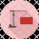 Construction Crane Lift Icon