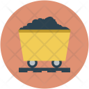 Construction Mining Trolley Icon