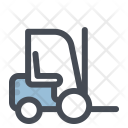 Construction Forklift Heavy Icon