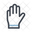 Construction Equipment Glove Icon