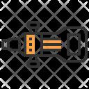 Construction Drill Equipment Icon