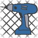 Construction Drill Power Icon